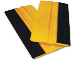 Edge Wrapped Felt Squeegees