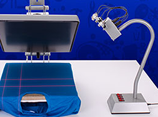 Heat Press Laser Alignment System