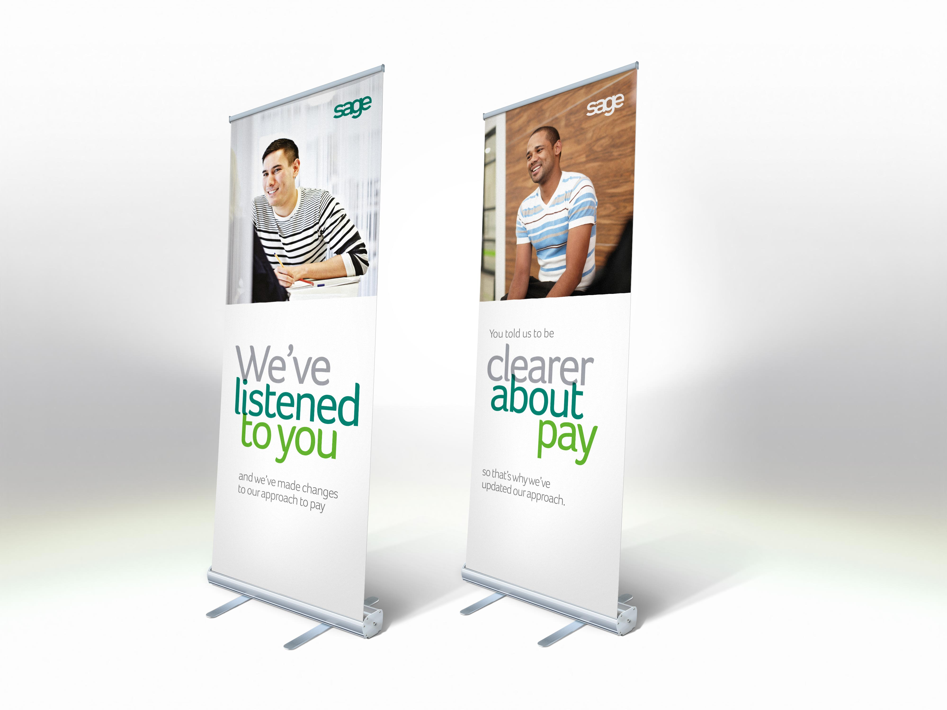 8mil Roll Up Banner Film