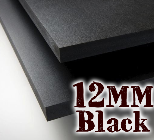 12mm Black Pvc Sheets