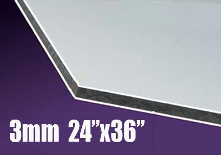 24 Quot X 36 Quot 3mm White Acm Sign Blanks